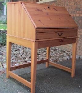 Folding Wooden Desk - Reduced!