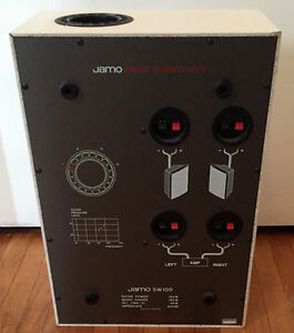 Jamo SW 100 Subwoofer for sale.
