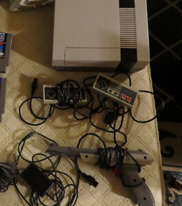 Nintendo NES System With 4 Games + Nintendo DS w/ 2 Games!