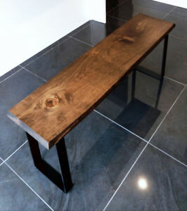 Live Edge Bench - Brand New - Completely finished! $42/per fo