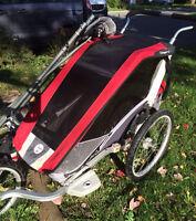 Remorque Chariot Cougar 1 incluant kit course et vélo