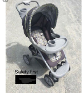Poussette safety first