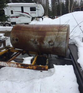 Fuel tanks with stand