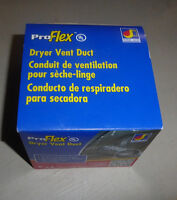 NEW in Box dryer vent duct