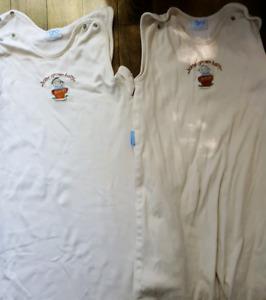 Organic / biologique cotton dormeuse Grobag 6-18m