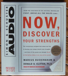 Audio Book CD: Now, Discover Your Strengths