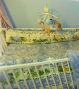 Classic Winnie the Pooh Crib Bedding and Decor