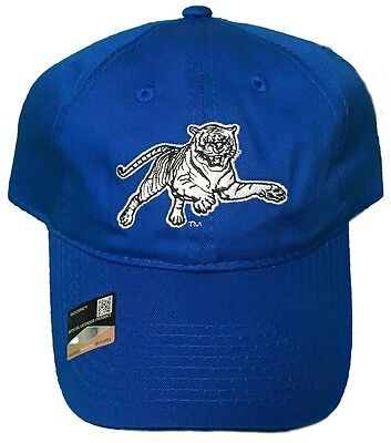NEW! Jackson State University Tigers Adjustable Snap Back Hat Embroidered Cap State University Tigers
