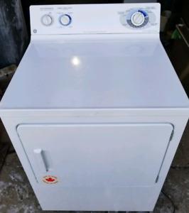 GE Gas Dryer, 12 month warranty