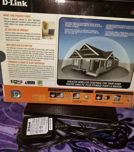 D-link Dir 615 Wireless Router (used... been sitting in the box)