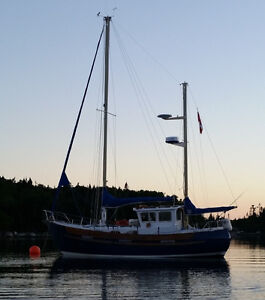 30ft Fisher Motorsailer