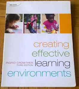 Creating effective learning environment 3rd edition