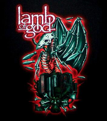 LAMB OF GOD cd lgo DEMON BIRD Official SHIRT LAST SMALL New oop