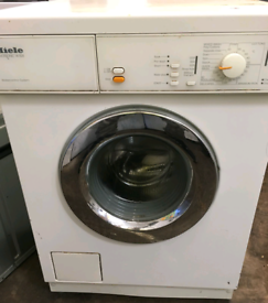Washing machine, miele