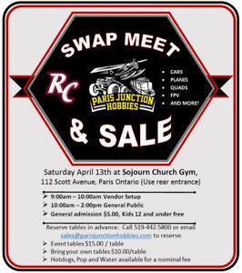 RC Swap Meet & Sale:  RC Cars, Planes, Boats, Quads & FPV