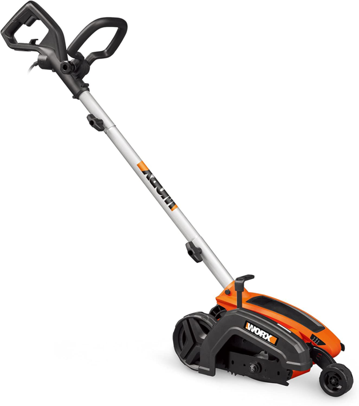 "Worx Wg896 12 Amp 7.5"" Electric Lawn Edger  Trencher, 7.5In,"