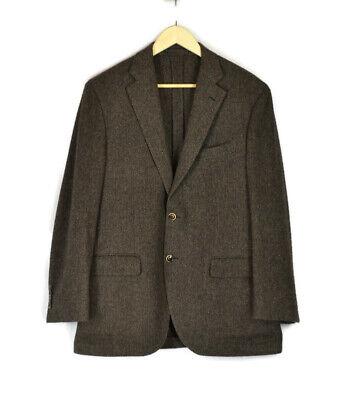 $995 LARDINI Unlined Unstructured Wool Jacket Size 42R (EU 52R) Sport Coat