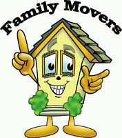 Family Movers 226-240-1070 Local or Long Distance, Call 24 hrs