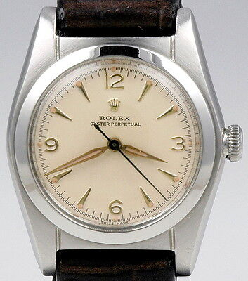 ROLEX OYSTER PERPETUAL BUBBLEBACK c.1940. - EXCELLENT CONDITION !