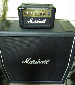 MARSHALL AMPLIFIER HEAD - UNIQUE - MINT - 4-MARSHALL FANS
