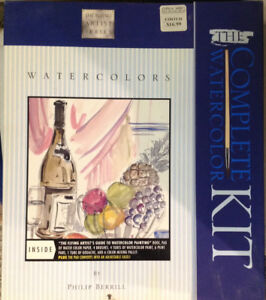 Complete Watercolour Kit for kids or adults