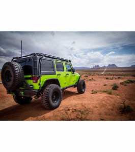 Gobi Stealth Rack Jeep Wrangler Unlimited with accessories