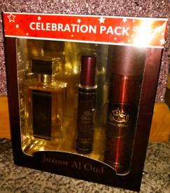 Oud Fragrance Gift Set Brand New Sealed