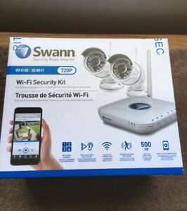 Swan wi-fi home or business security monitoring system