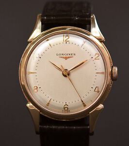 Vintage 1950's Longines men's watch