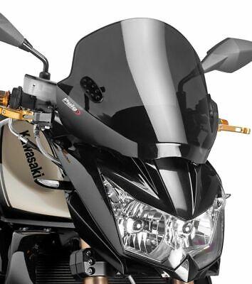 Windschutzscheibe Puig  SE Kawasaki Z 750/ Z 750 R Cockpit-Scheibe schwarz gebraucht kaufen  Pulheim
