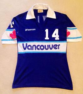 WANTED: NASL Game Worn Soccer Jerseys - Vancouver Whitecaps !