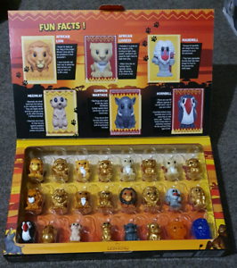 Woolworths Lion King Ooshies with case