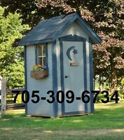 Outhouses and Storage Sheds