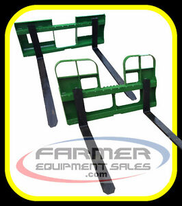 Pallet forks for John Deere, skid steer, and Euro / Alo IN STOCK
