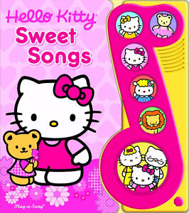 Hello Kitty Sweet Songs Play-a-Sound [Board book] -- NEW - $5.00