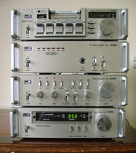 AIWA Toshiba Mini Compo Component System 22 10 30 50 60 80 Serie