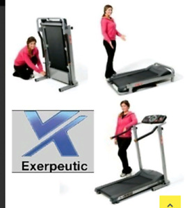 Exerpeutic 350 High Capacity Fitness Walking Electric Treadmill