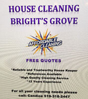 House cleaning - Bright's Grove