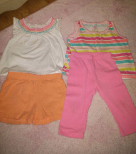 Baby girl summer outfits (12-18m)