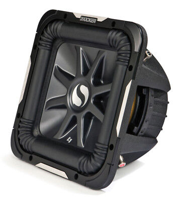 Kicker 11S15L7D4-N Car Audio Solobaric 15