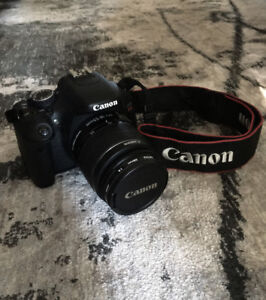 Lightly used Canon Rebel T3i 600D with EF-S 18-55mm IS II lens