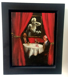 Michael Harrington, original oil painting, signed and dated