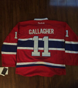 Montreal Canadiens #11 Brendan Gallagher jersey