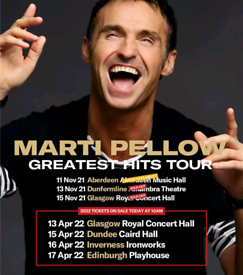 Sold out tickets Marti Pellow