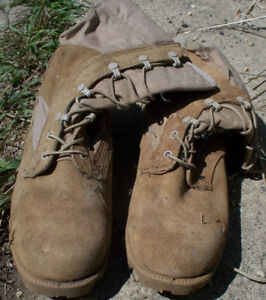 Canadian Army Desert Boots