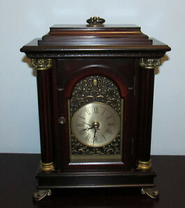 Vintage Bombay Company Table Clock