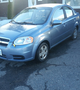 2008 Chevrolet Aveo 140k kms-Will Safety for $4000 or As Is $3K