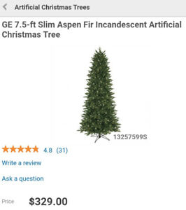 Brand new artificial Christmas tree