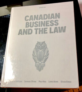 Business Law Textbook BUSI 3705