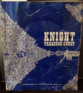 Knight Treasure Chest Book